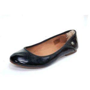NWOB ugg antora patent leather ballet 9.5